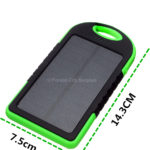 Solar-Powered Portable Cell Phone Battery Chargers